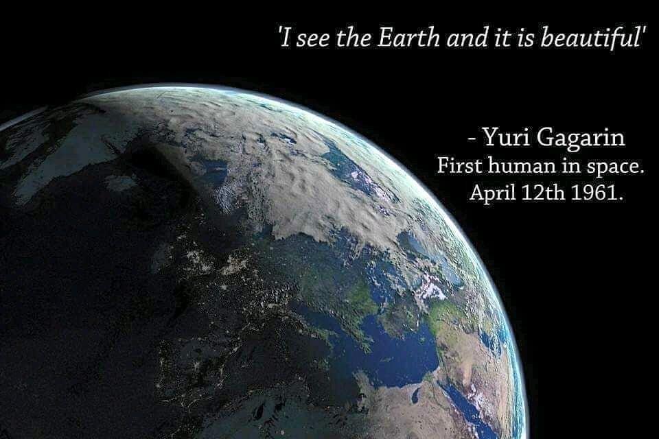 International Day of Human Space Flight👨🚀🚀